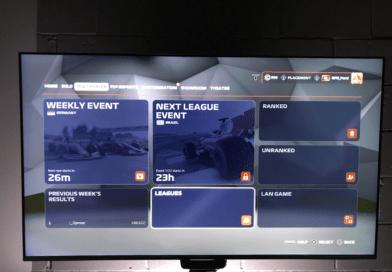PS4 league race